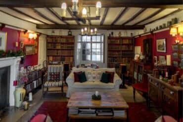 영국풍 컨트리 하우스를 위한 데코