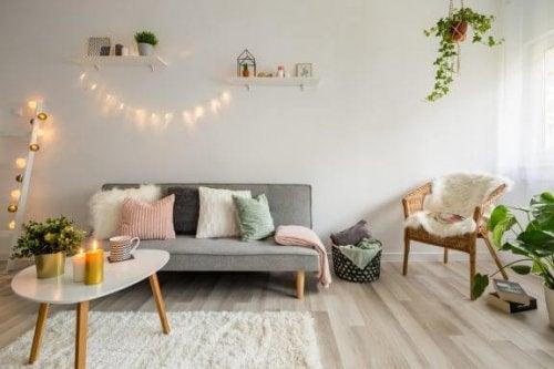 Je woonkamer decoreren met pastelkleuren