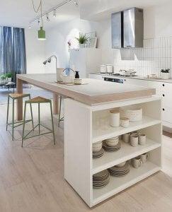 Het belang van opbergruimte in je open keuken