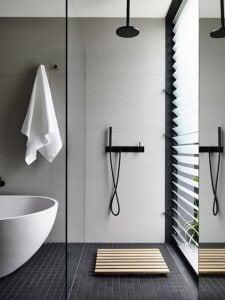 Verwissel het bad met een douche