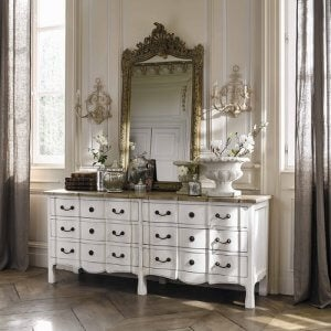De mooiste vintage ladenkastjes voor je slaapkamer Versailles