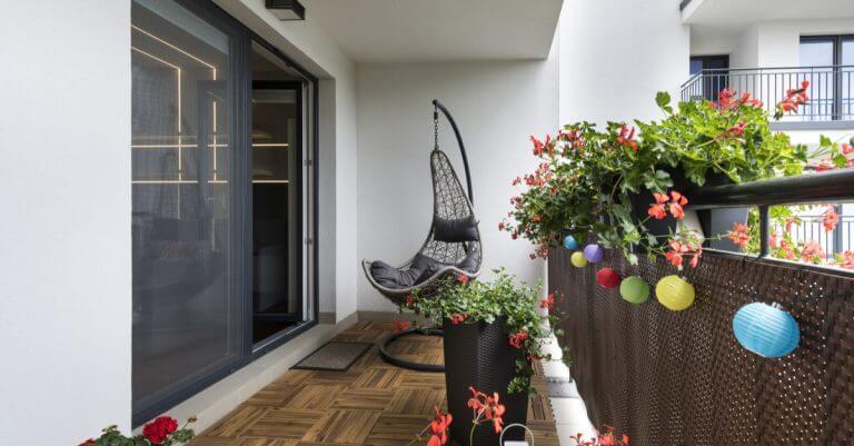 Riet is ook ideaal voor je Boheemse patio