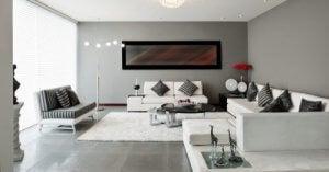 Verschillende manieren om je woonkamer in te richten met horizontaal meubilair