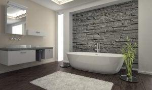Badkamer veranderen met natuursteen tegels