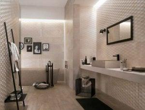 drie soorten badkamertegels die je goed kunt combineren