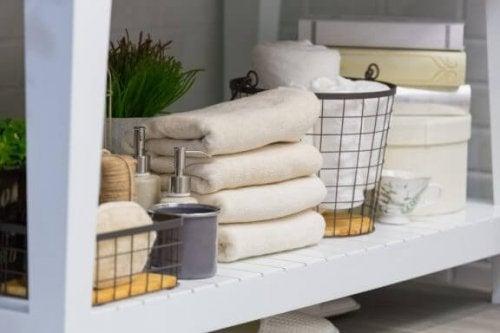 Een opgeruimde badkamer: 4 gouden tips