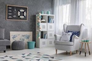 Licht grijs brengt licht in je woonkamer zonder te verblindend te zijn