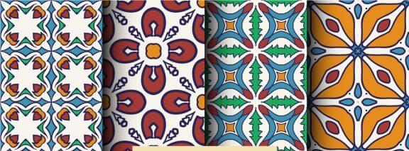 Hydraulische tegels, een bron van inspiratie