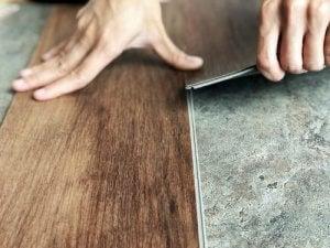 Vinyl vloerbedekking voor een totale keukenrenovatie
