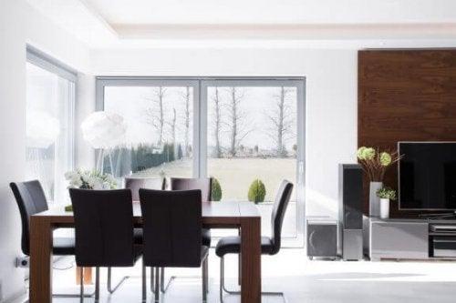 Wil jij een minimalistische eetkamer maken?