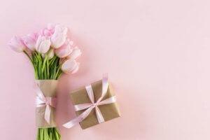 Bloemen als versiering