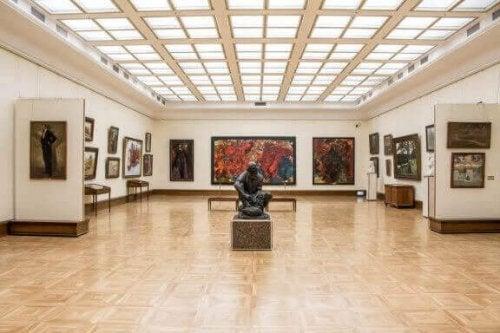 Het opzetten van een galerij voor kunstwerken