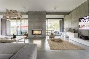 Beton kan ook gebruikt worden in je interieur
