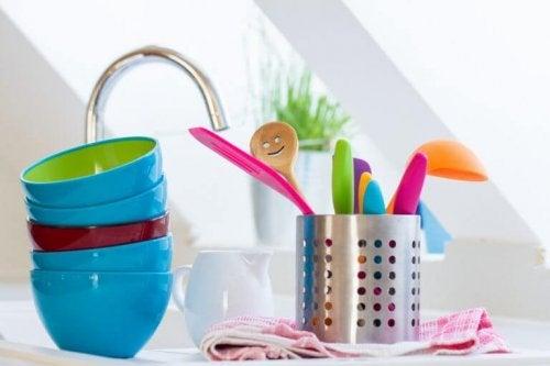 Houd de keuken schoon en netjes