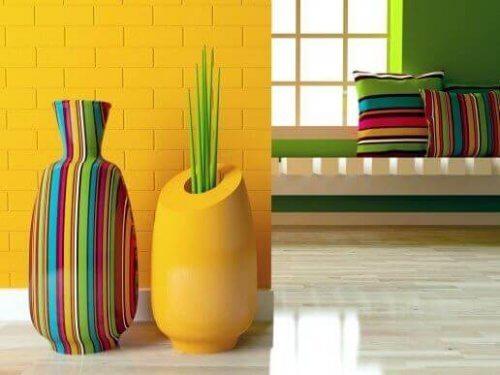 4 mooie vazen in moderne stijl voor je huis