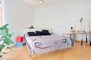 Kamer met bed
