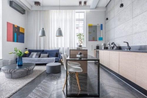 Licht in een klein huis is fundamenteel