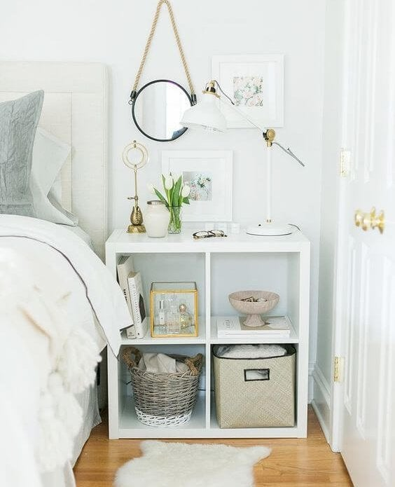 renoveer je slaapkamer met een georganiseerd nachtkastje