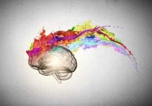 vervaagde kleuren en de psychologie ervan