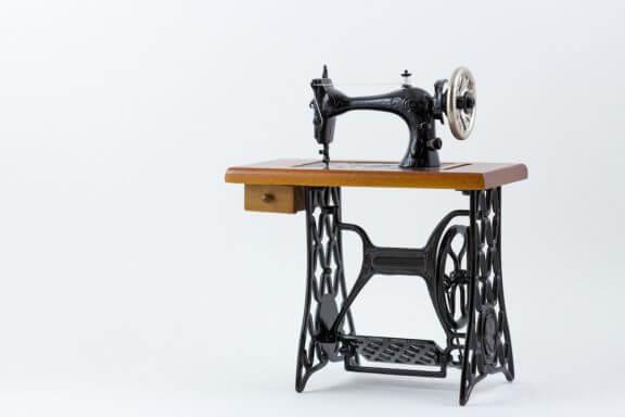Decoreren met antieke naaimachines