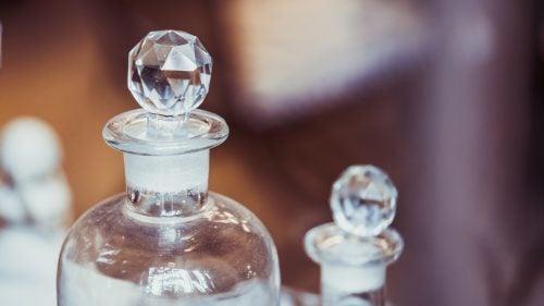 Karaf van kristal