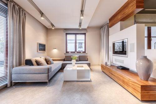 Stappen om een lichte en ruime woonkamer te krijgen