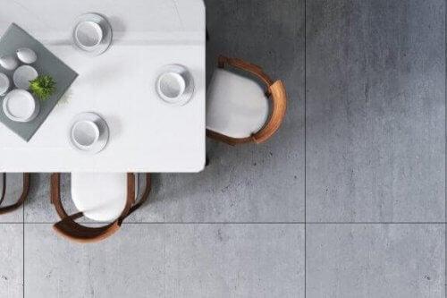 De voordelen van betegelde vloeren