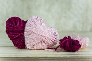 Harten van wol