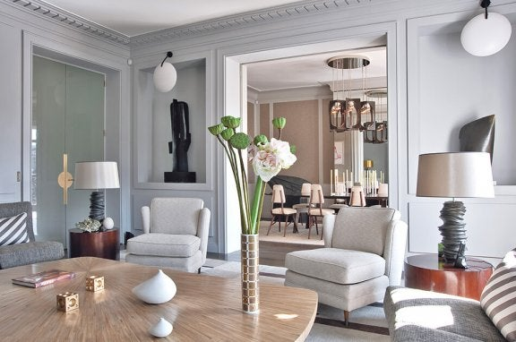 Interieur door Jean Louis Denoit