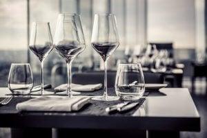 Kies het juiste glas tijdens het diner