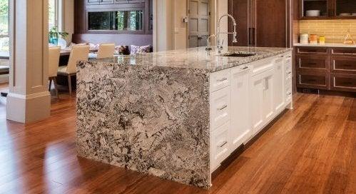 Marmer of graniet