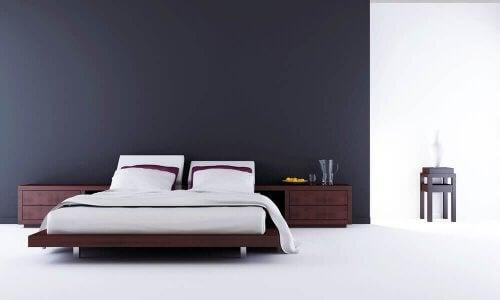 Een minimalistische decoratie en passie voor rechte lijnen