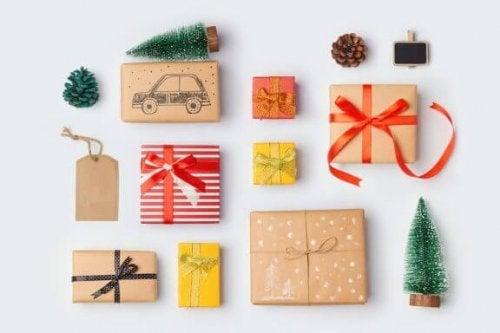 3 originele ideeën voor het inpakken van cadeaus