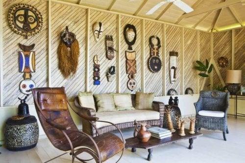 Een huis geïnspireerd door Out of Africa