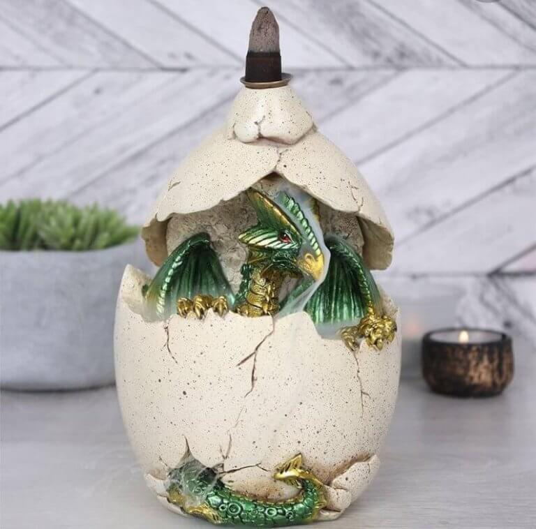 Drakenei lamp decoraties voor fans