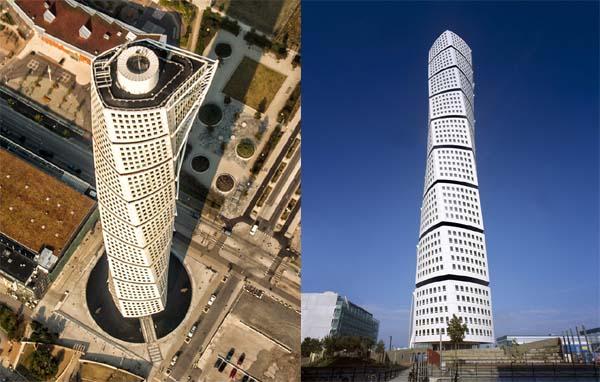 Mode geïnspireerd door gebouwen van Santiago Calatrava