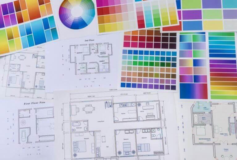 Plannen op papier