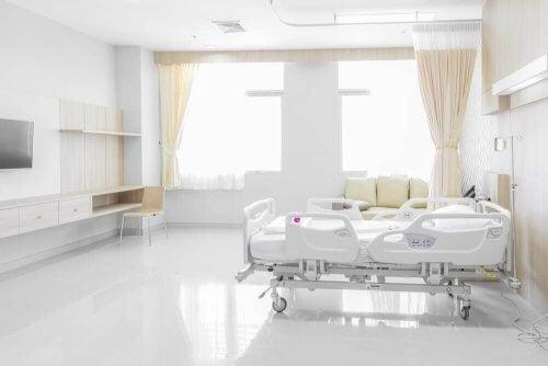 Kamer in een kliniek