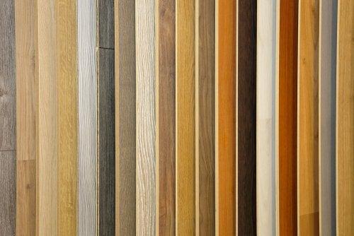 Laminaatvloeren in verschillende kleuren