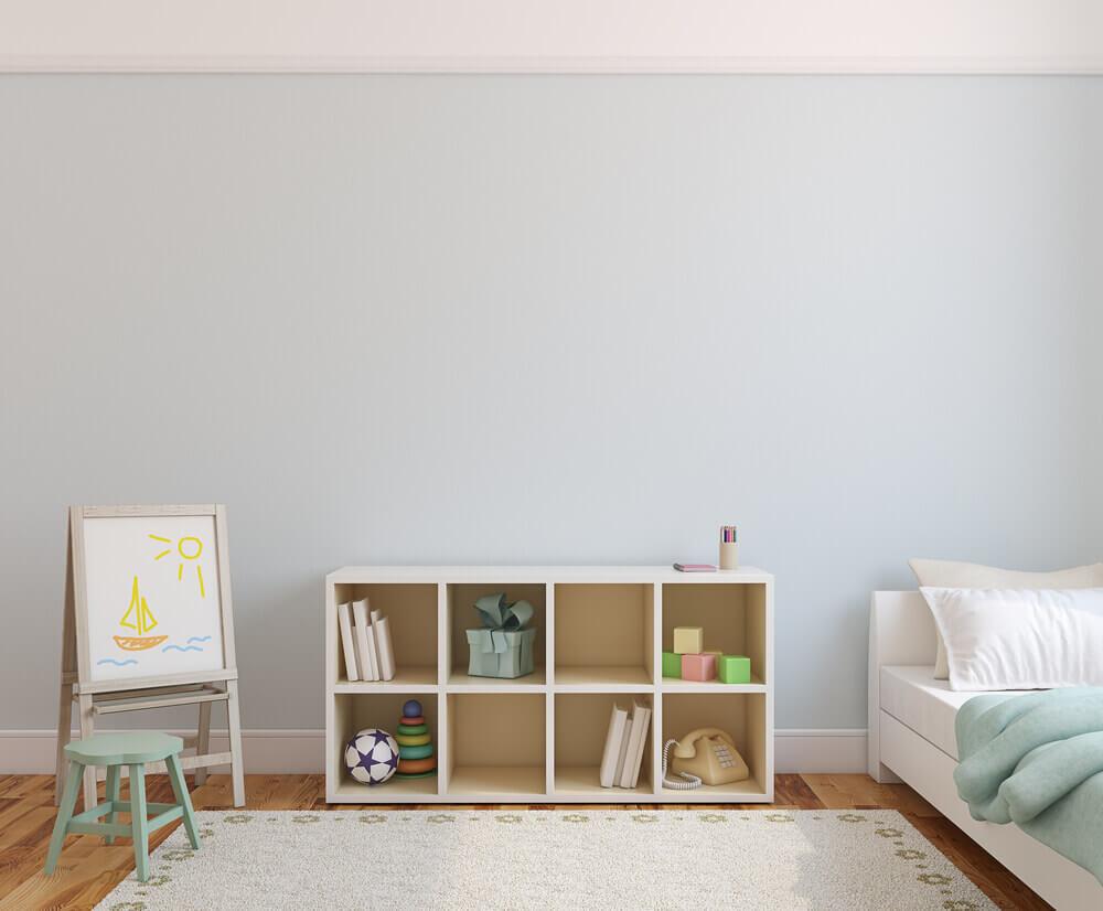 Kinderkamer in Scandinavische stijl