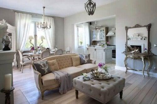 Franse provinciale stijl – vrolijke, gezellige interieurs