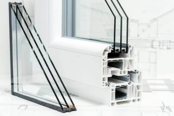 Toepassing van geïsoleerde ramen