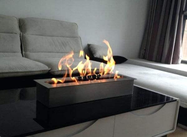 Brandende tafel biohaard