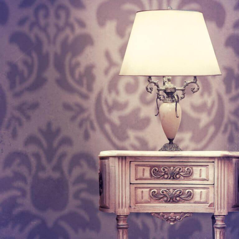 Lamp voor in de slaapkamer