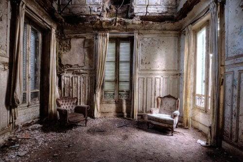 In verval geraakt huis