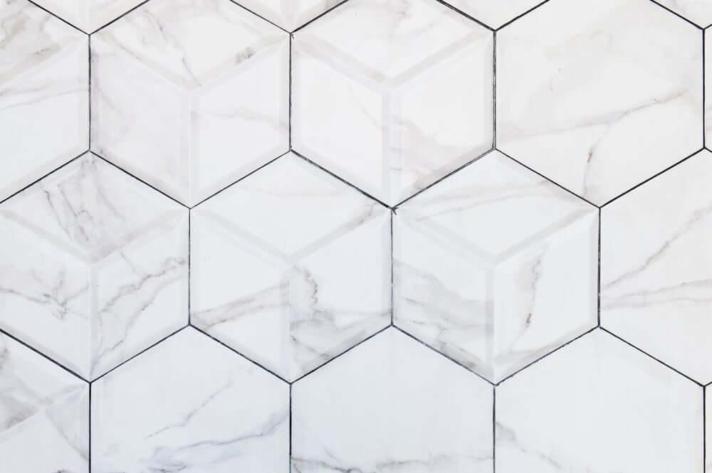 Geometrische keramische tegels