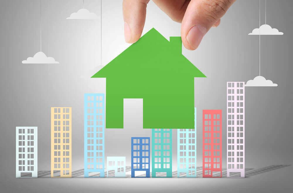 Een groen huis is gezond