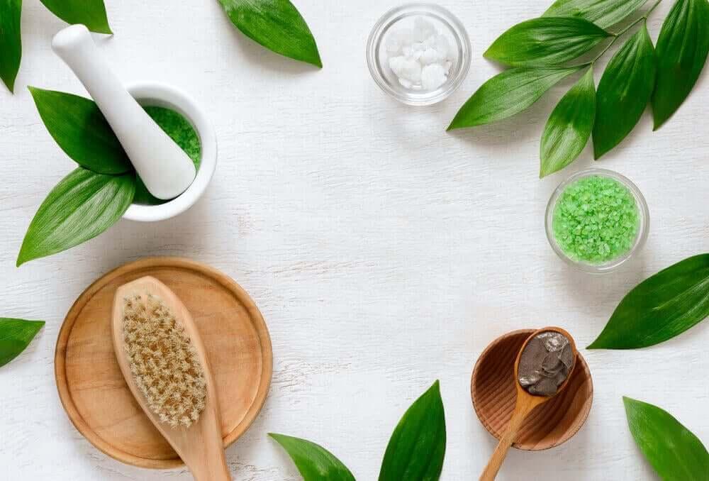 Producten voor een spa