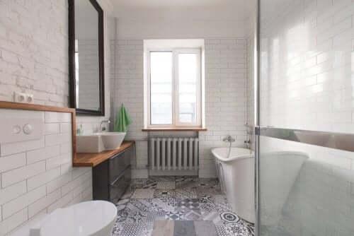 Vereisten voor elektrische bedrading voor een badkamer
