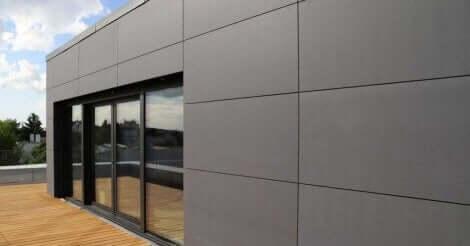 Durock maakt gevelbekleding van vezelcement voor gebouwen